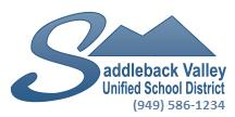 Saddleback Valley Unified School District Logo