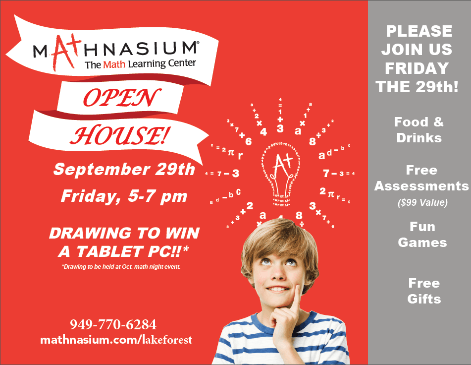 Mathnasium Open House