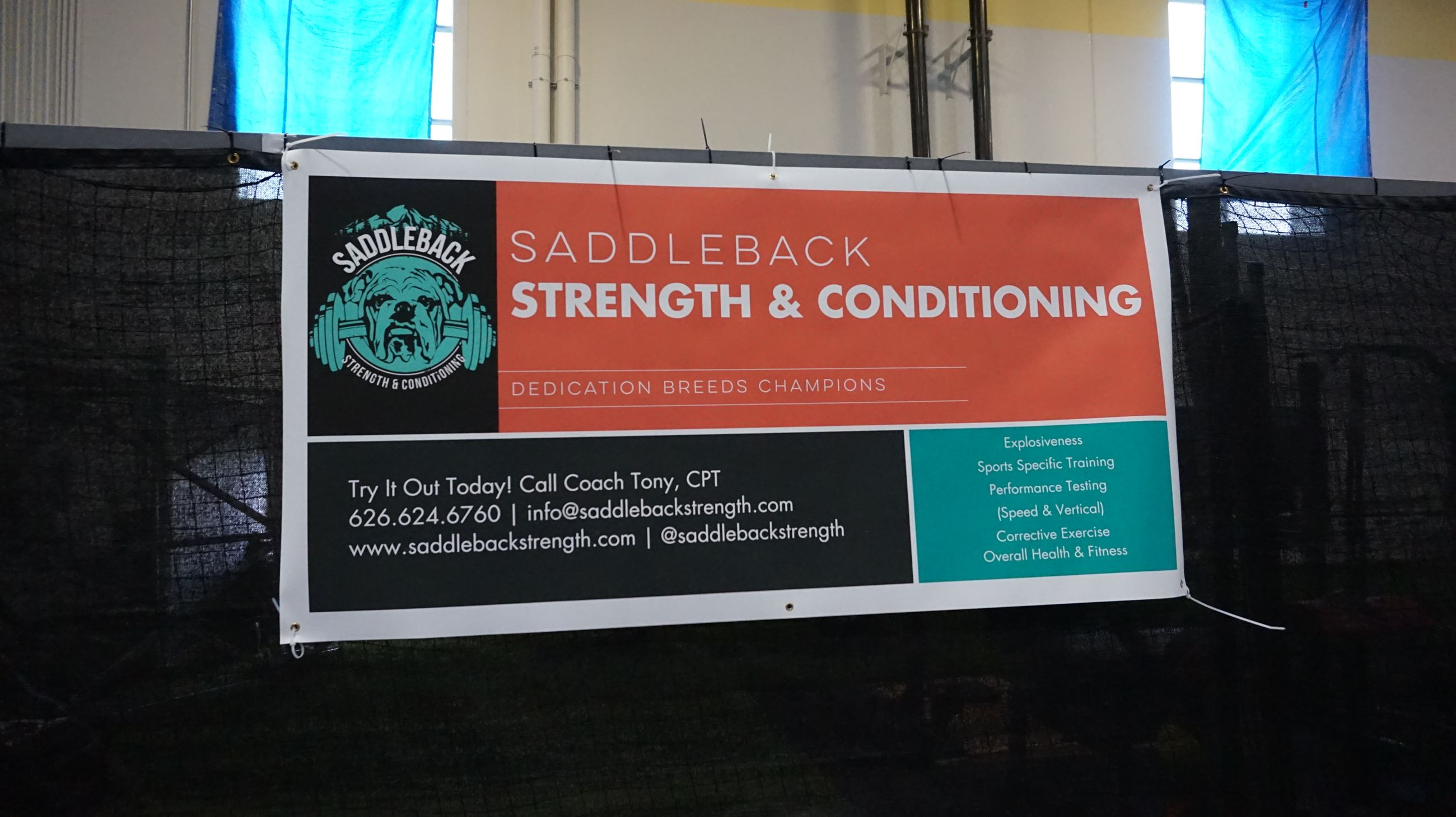 Saddleback Strength & Conditioning Ribbon Cutting