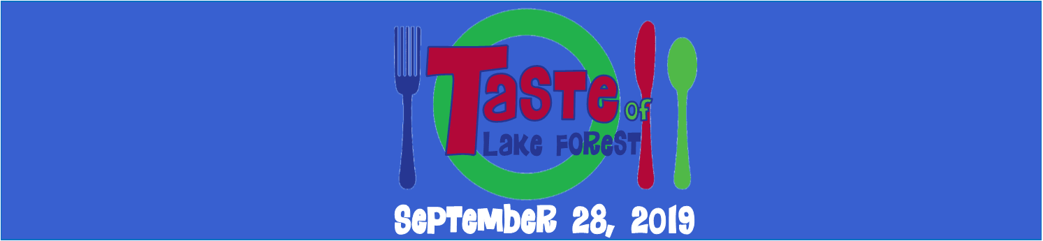 Taste of Lake Forest 2019 Website Banner