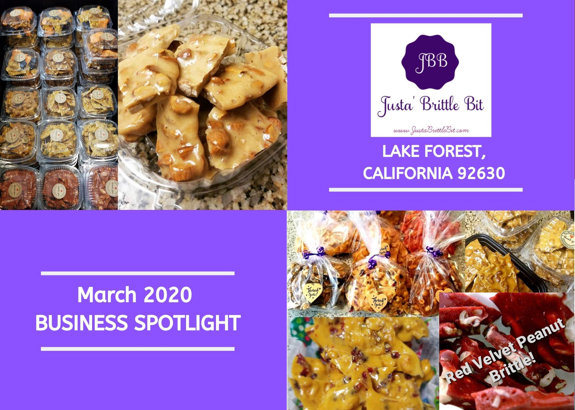 March 2020 Business Spotlight Photo Collage